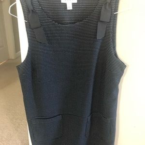 Casual dress.Black with white dots. Never worn.
